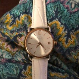 White Kenneth Cole watch